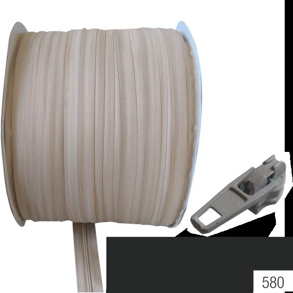 Schieber für Reissverschlüsse Nylon 4mm