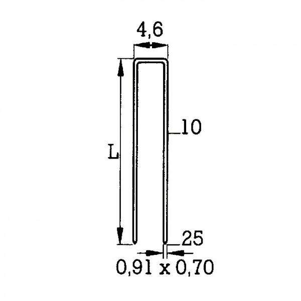 Heftklammer Typ 97 (O)