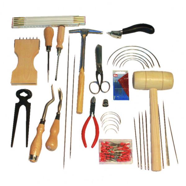 Werkzeugsatz mit Holzkasten