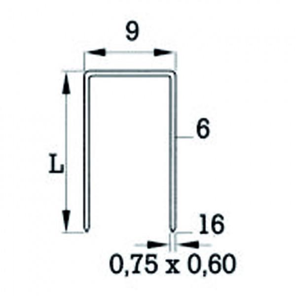Heftklammer Typ 71 (V)
